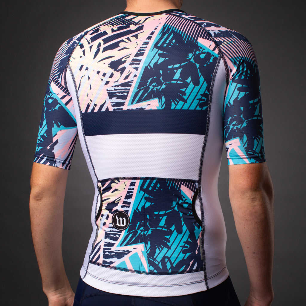 Men's Endless Summer Contender Aero Triathlon Jersey