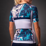 Women's Endless Summer Contender Aero Triathlon Jersery