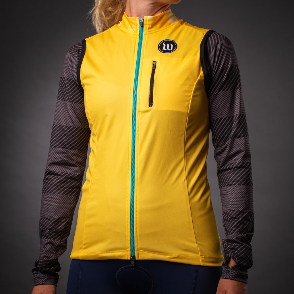 Women's Recon Double Threat Vest - Saffron