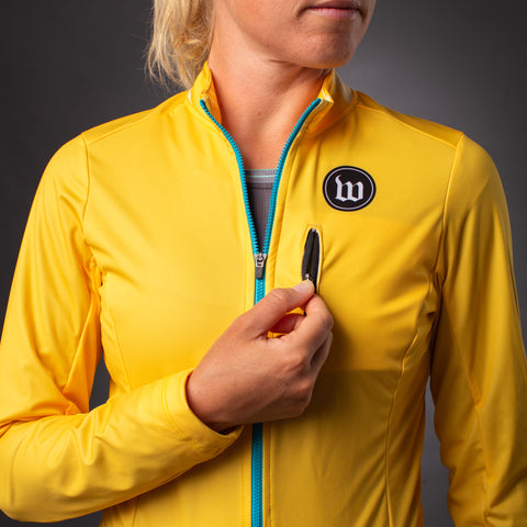 Women's Recon Double Threat Jacket - Saffron