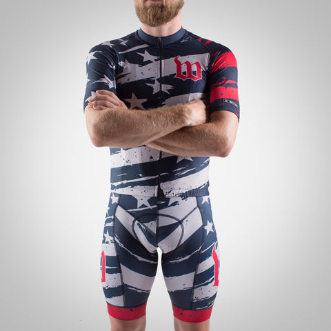 Men's Freedom 2.0 LTD - Contender 2 Cycling Jersey-hover