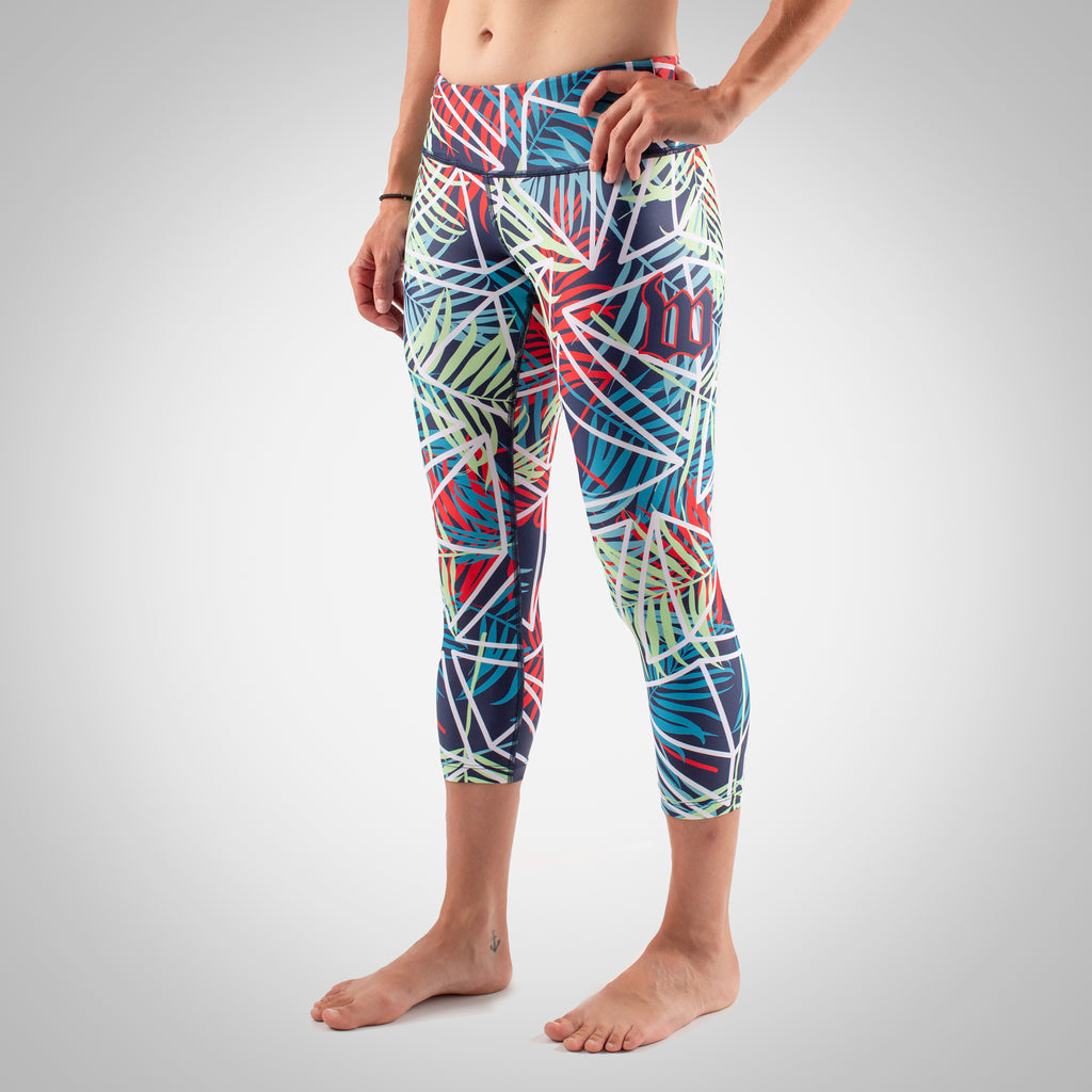 Women's Cabana Tights - Palm