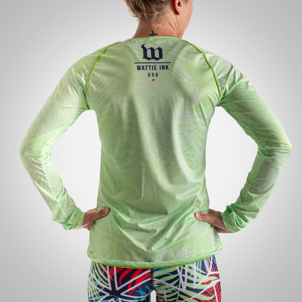 Women's Cabana Long Sleeve Run Top - Organic