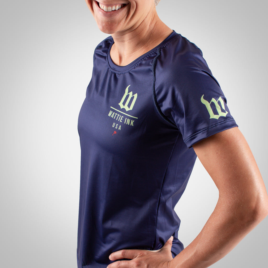 Cabana - Women's Running Top - Navy