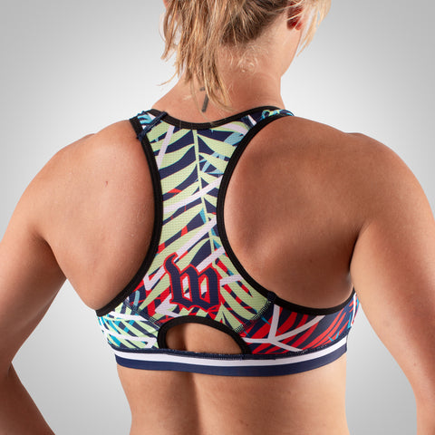 Cabana - Women's Race Bra - Palm
