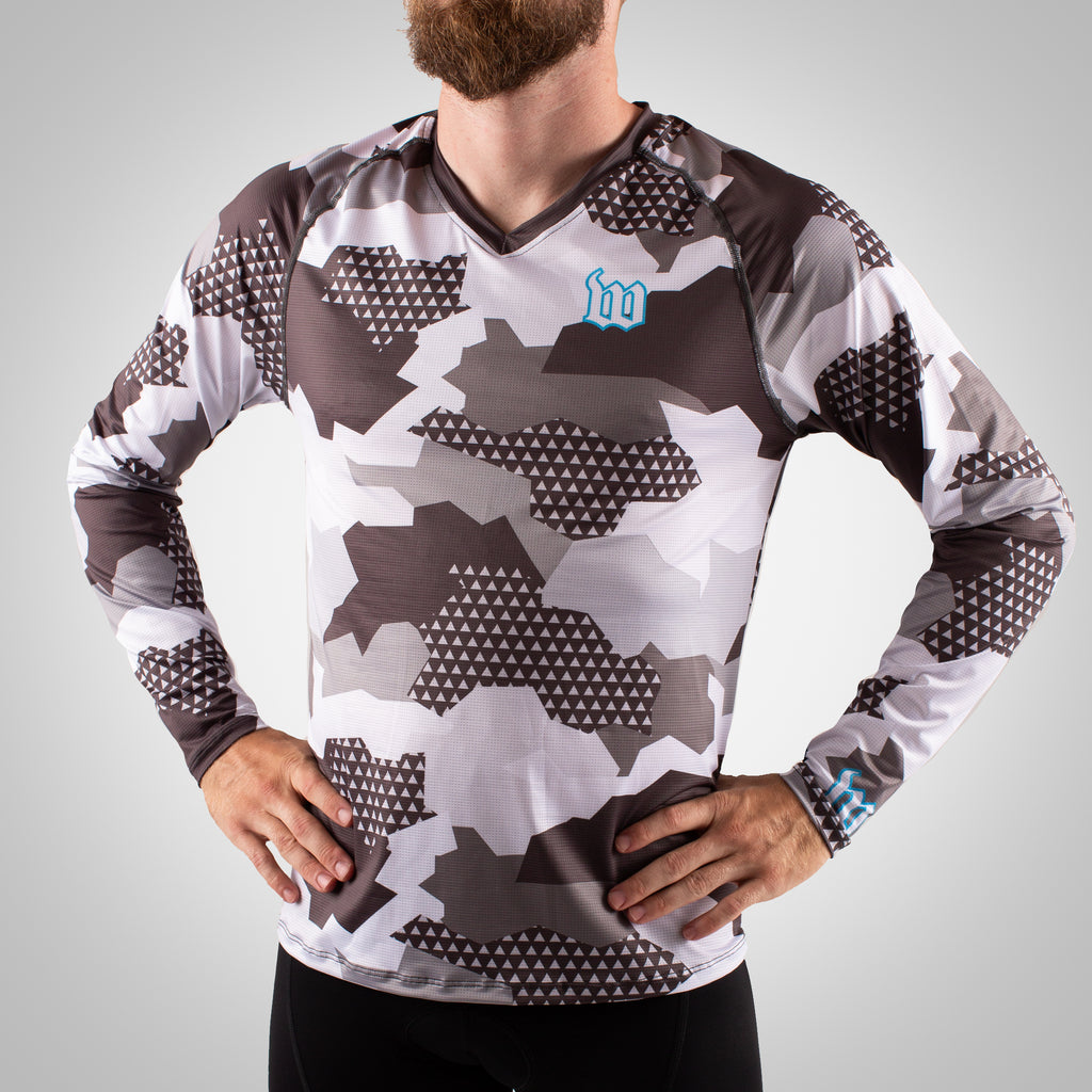 Urban Assault - Men's Long Sleeve Run Shirt - Snow