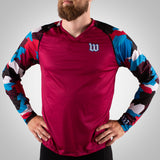 Urban Assault - Men's Long Sleeve Run Shirt - USA