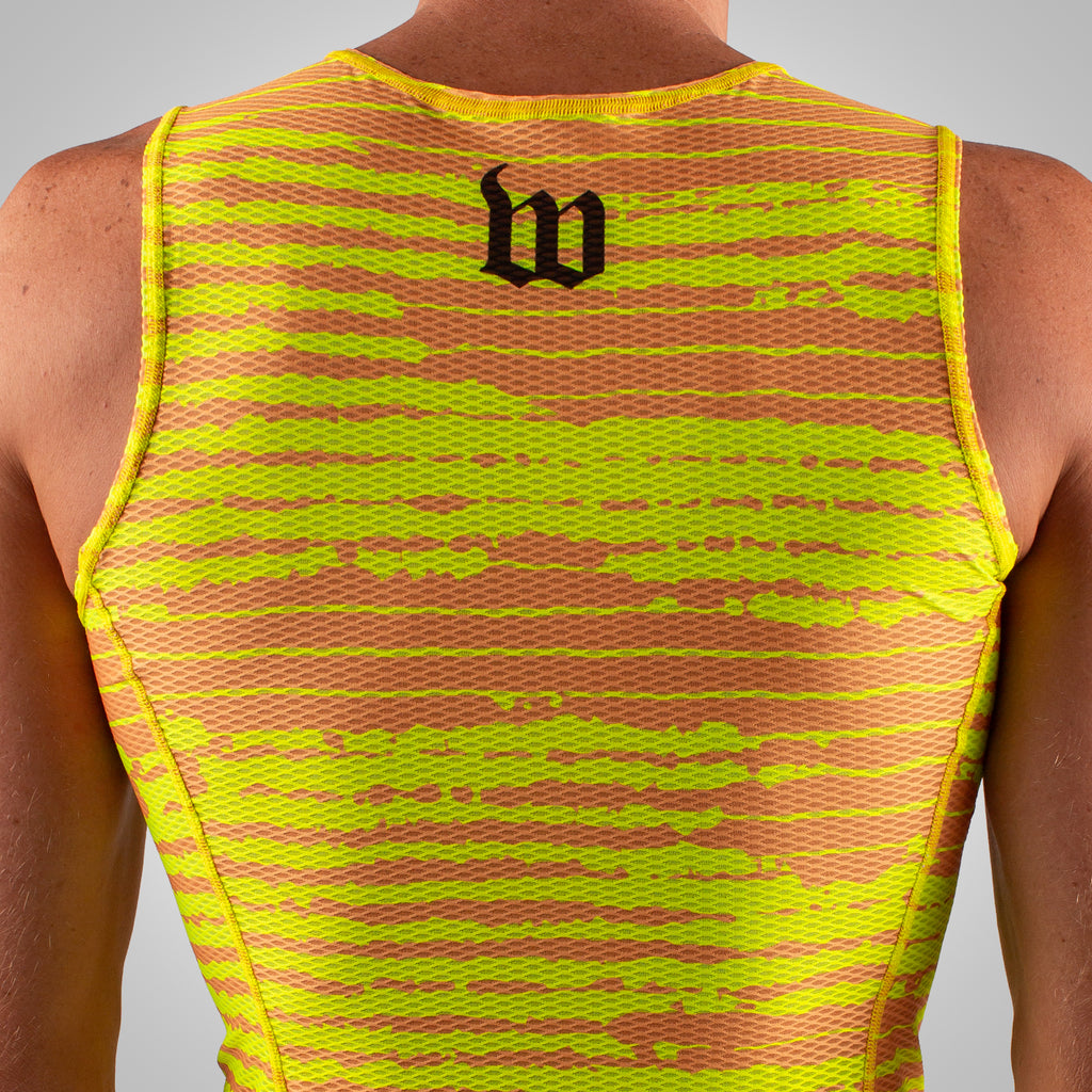 Men's Summer Base Layer - Yellow