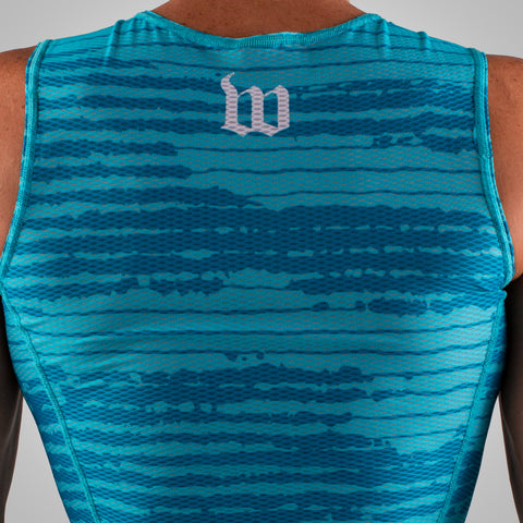 Men's Summer Base Layer - Flo Blue-hover