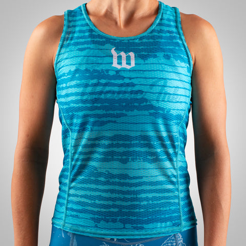 Women's Summer Base Layer - Flo Blue