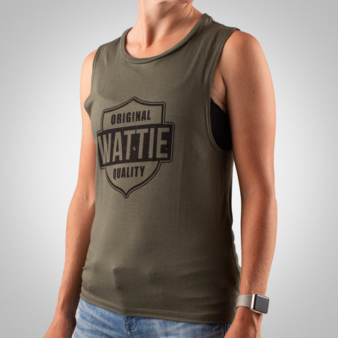 Women's High Octane Muscle Tank - Military Green