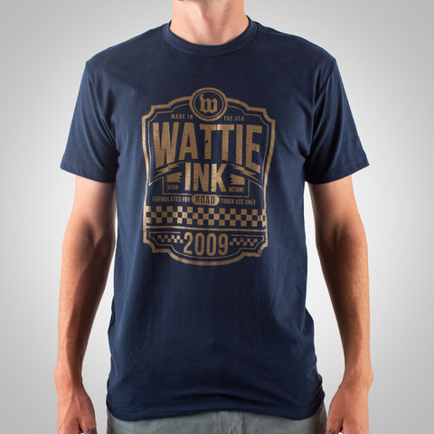 Men's High Octane Tee - Midnight Navy