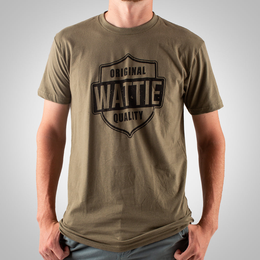 Men's Original Quality Tee - Military Green