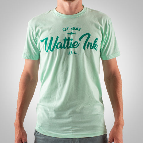 Men's Bones & Sands Tee - Mint
