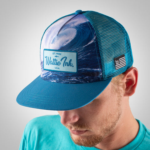 Bones & Sands Trucker Hat - Slate