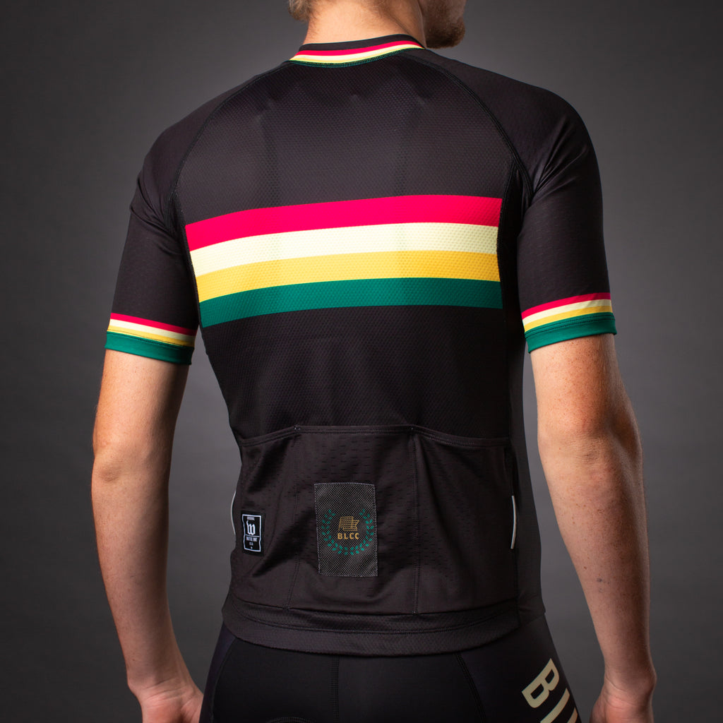 Contender 2 Men's Cycling Jersey - Bike Law Collection