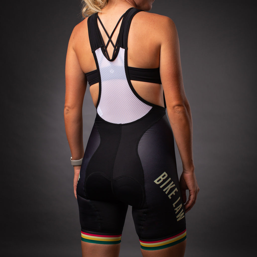 Contender Women's Bib Shorts - Bike Law Collection