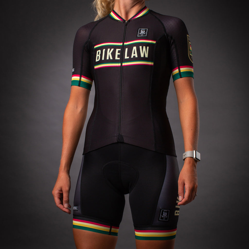 Contender 2 Women's Cycling Jersey - Bike Law Collection