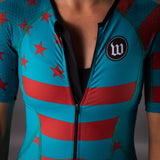 Women's Patriot 3 Contender Speedsuit - Riviera