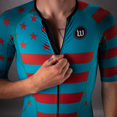 Men's Patriot 3 Contender Speedsuit - Riviera