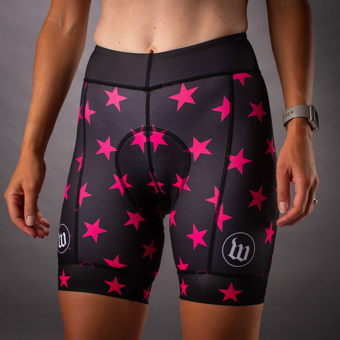 Women's Patriot 3 Contender Cycling Short - Hottie