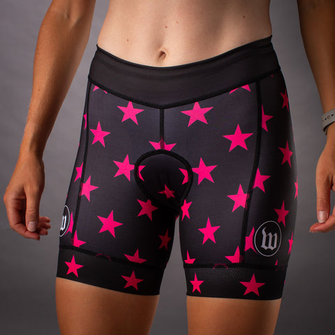 Women's Patriot 3 Contender Aero Triathon Short - Hottie