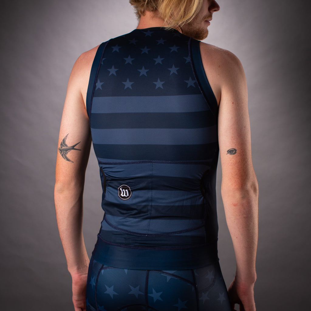 Men's Patriot 3 Blue Notte Contender Tri Top