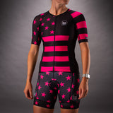 Women's Patriot 3 Contender Aero Triathlon Jersey - Hottie