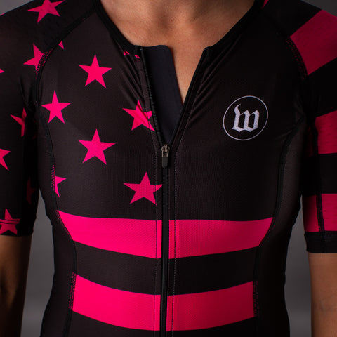 Women's Patriot 3 Hottie Contender Tri Aero Jersey