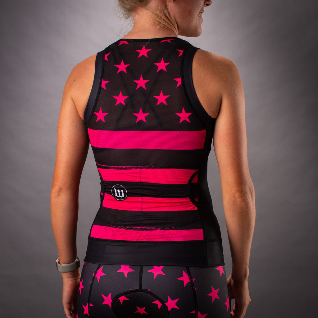 Women's Patriot 3 Hottie Contender Tri Top