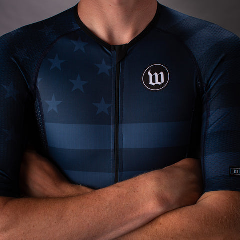 Men's Patriot 3 Contender Speedsuit - Blue Notte