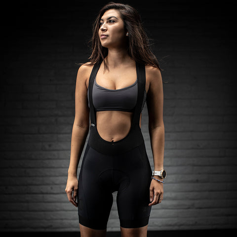 Womens 10th Anniversary Bib Short