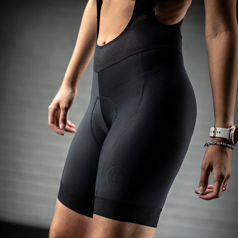 Womens 10th Anniversary Bib Short-hover