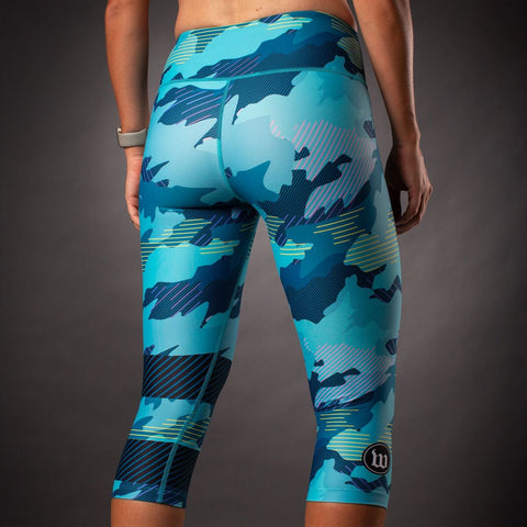 Women's Recon Tights - Teal