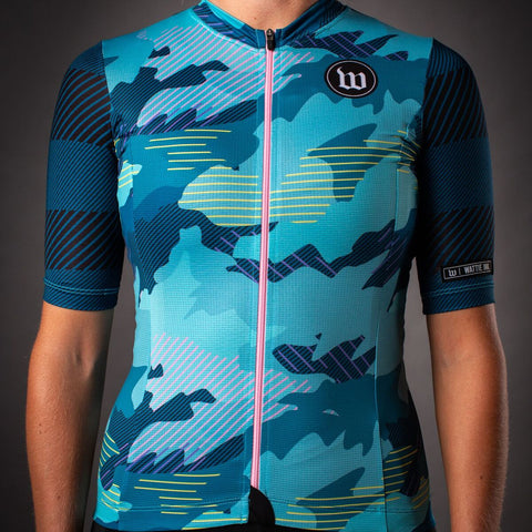 Women's Recon Contender 2.0 SS Cycling Jersey - Teal