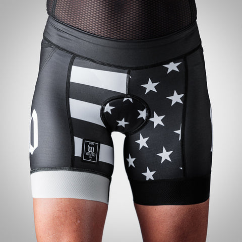 Women's Patriot Collection Aero Triathlon Short