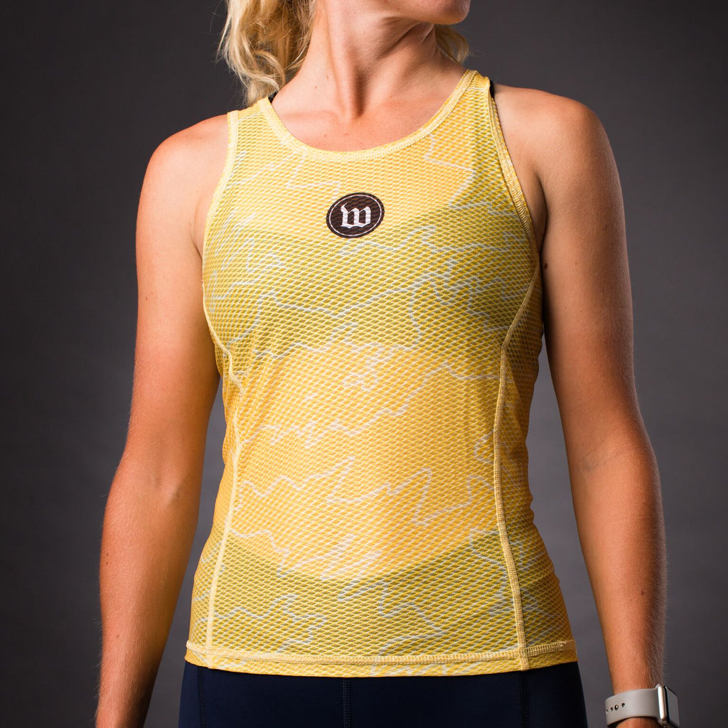 Women's Recon Base Layer - Saffron