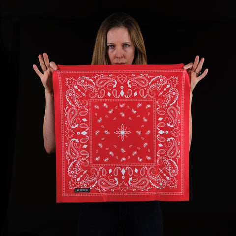 Classic Bandana - Red-hover