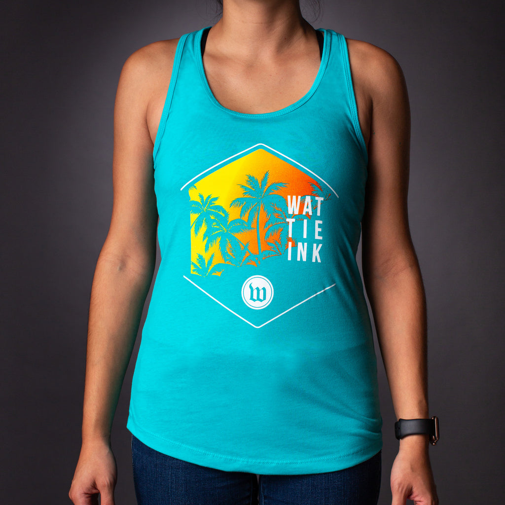 Women's Sunset Racerback