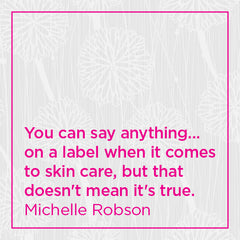 You can say anything on a label... but that doesn't mean it's true.