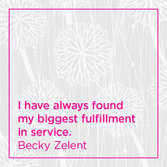 Callout: I've always found my greatest fulfillment in service.