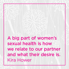 Callout: A big part of women's sexual health is how we relate to our partner and what their desire is.
