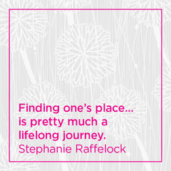 Finding one's place is pretty much a lifelong journey.