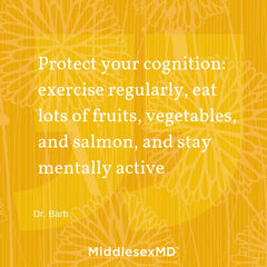 Protect your cognition...