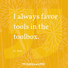 I always favor tools in the toolbox.