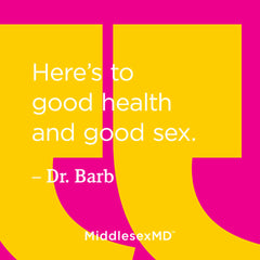 Here's to good health and good sex.