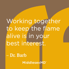 Working together to keep the flame alive is in your best interest.