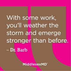 With some work, you'll weather the storm and emerge stronger than before.