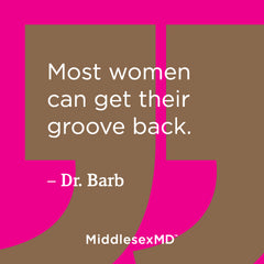 Most women can get their groove back