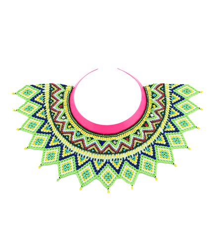 Maju Curated Bold | Pink Lemonade Necklace